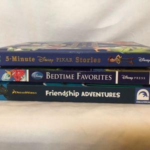 Three Hardcover Childrens Story Books